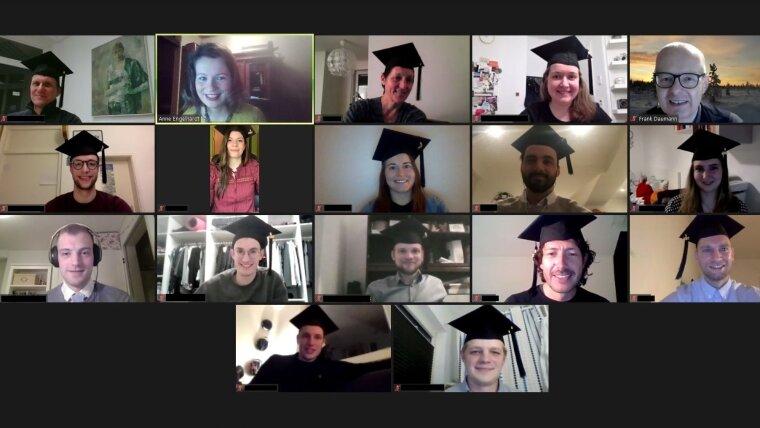 MBA Sportmanagement: digitale Graduierungsfeier